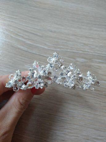 Spinka do włosów ślubna