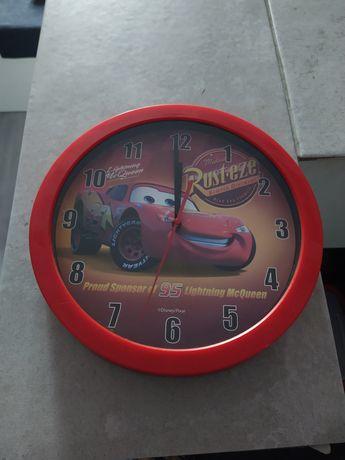 Zegar ścienny McQueen sprawny