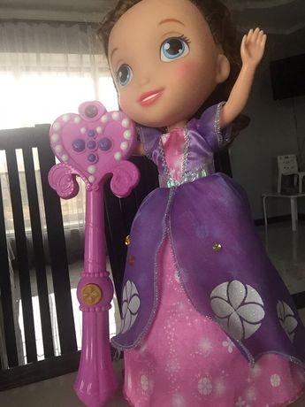 Интерактивная кукла Disney София!!