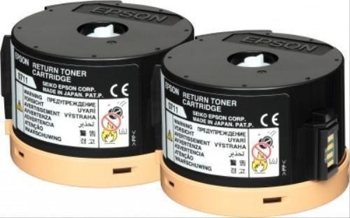Toner EPSON S050711 Pack Duplo - Preto