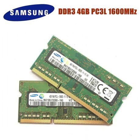 Пам'ять для ноутбука 8gb (4+4gb) RAM ОЗУ Samsung SO-DIMM DDR3
