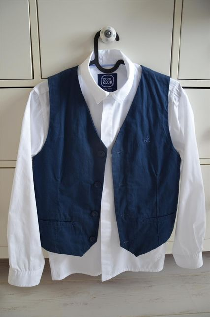 Koszula + kamizelka Cool club 12/13 lat 158 cm