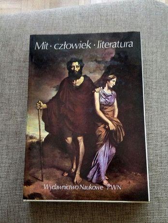 """Książka"""" Mit~człowiek~literatura"""""""