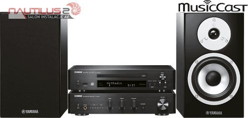 Yamaha MCR-N870D wieża stereo mikro system mini DAB+ | Raty 30x0%