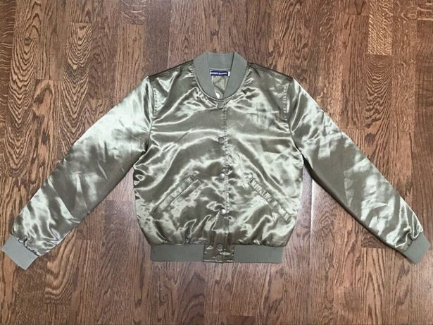 Демисезонная куртка бомбер Original Marines для девочки 8лет; 10лет