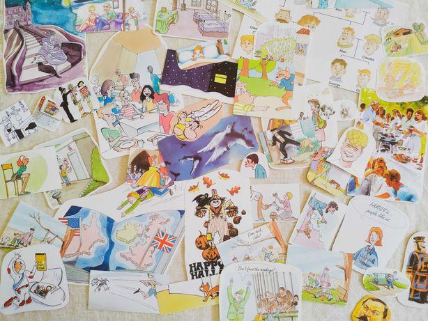 Pack de Ilustrações Para Diários, Colagens, Bullet Journals, Scrapbook