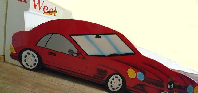 Детская кровать Красная Машина