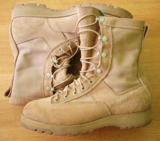 Buty wojskowe US ARMY GORE-TEX Belleville 790 9R!