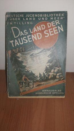 """Раритетна книга """"Das Land der tausend Seen"""" 1931р."""