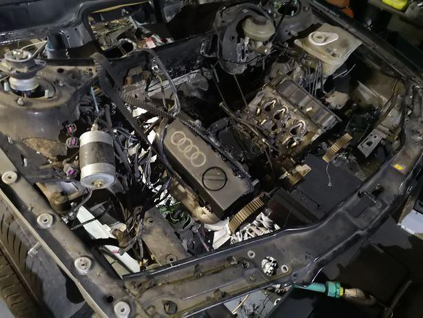 Audi a6 c4 запчасти кузов двери ляда двигатель капот разборка