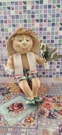 Банщик-кукла ручной работы