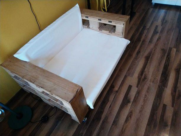 Fotel z palet 120x80