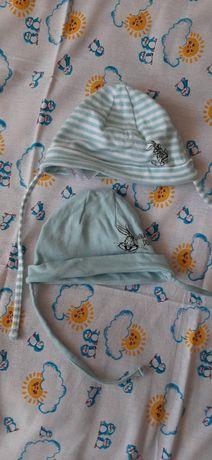 Шапочки дитячі  в гарному стані одягали 1 раз