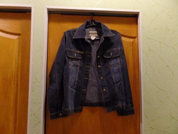 Пиджак джинсовый женский удлиненный