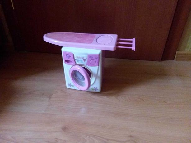 Детская стиральная машинка+гладильная доска+сушка