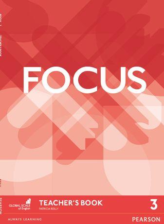 Учебник FOCUS 3 - Student's Book, Work Book, Teacher's Book+AUDIO mp3
