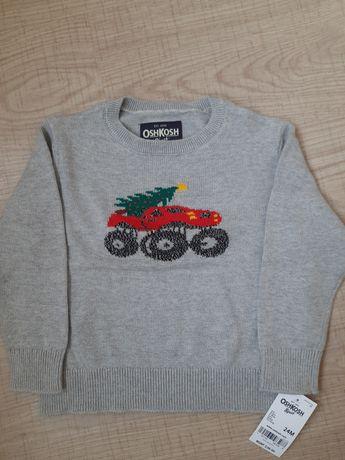 Новый детский свитер пуловер OshKosh