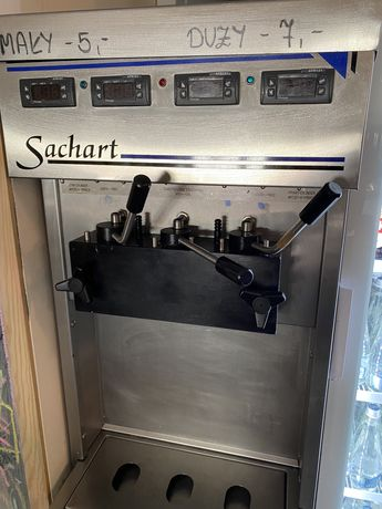 Maszyna do lodów świderków Sachart