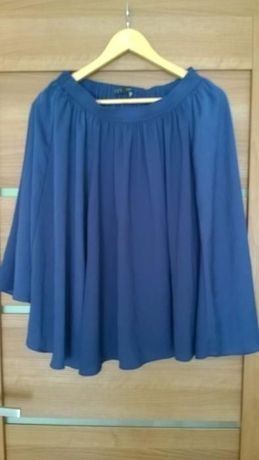 Spódnica Zara niebieska