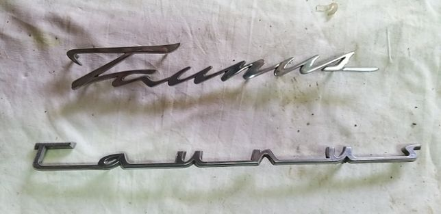 Vendo emblemas e Ford Taunus