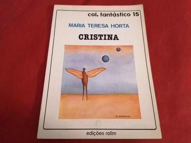 Cristina, de Maria Teresa Horta (primeira edição)