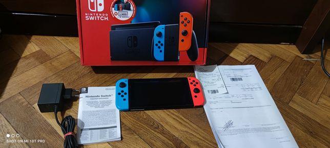 Nintendo switch V2 Komplet Gwarancją Pudełko Zamiana PS4 PS3 Xbox 360