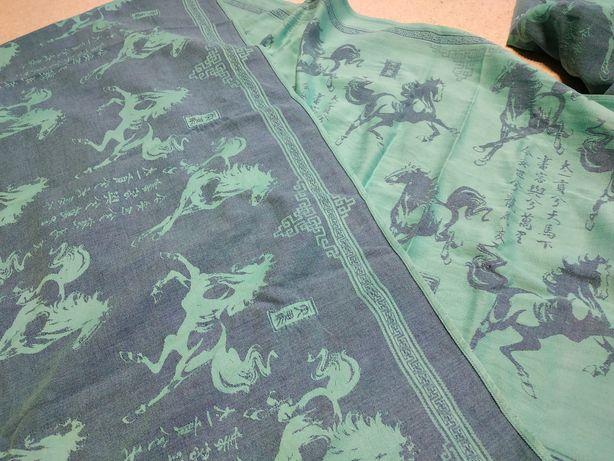 Chusta tkana Oscha Tian Ma rozmiar 5 konie
