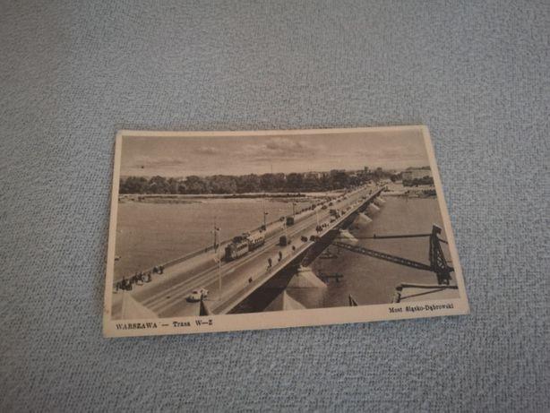Pocztówka Warszawa - Trasa W-Z Most Śląsko-Dąbrowski