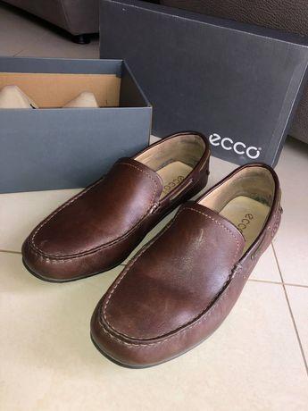 Мужские кожаные туфли, 45 размера, фирма ECCO
