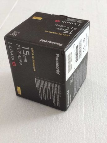 НОВИЙ! Об'єктив Panasonic Leica 15mm f/1.7 ASPH (Micro FT) ГАРАНТІЯ!