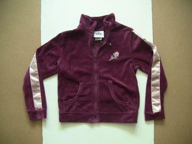 Новая кофта, спортивная куртка LEE на девочку 7-8 лет