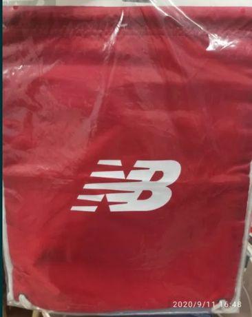 Nowy New Balance worek plecak CINCH SACK czerwony LAB91039TRE