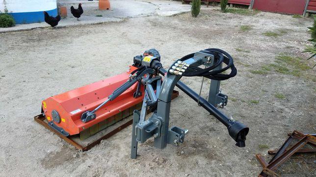 Triturador deslocamento lateral Usado, vertical e para baixo
