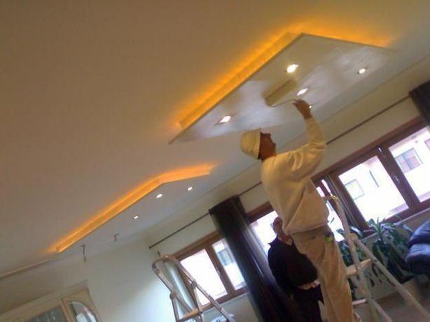 Remodelações, pinturas, pequenos arranjos, pladur, tetos, divisórias!!