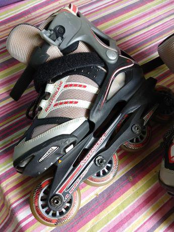 Rolki Rollerblade dziecięce z regulacja rozmiaru 32-35