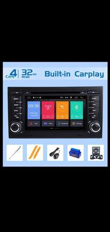 Radio Samochodowe Audi a4b7/b6 Seat Exeo z Androidem 10