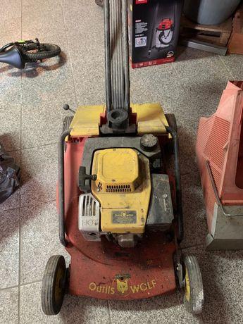 Máquina cortar relva outils wolf gasolina
