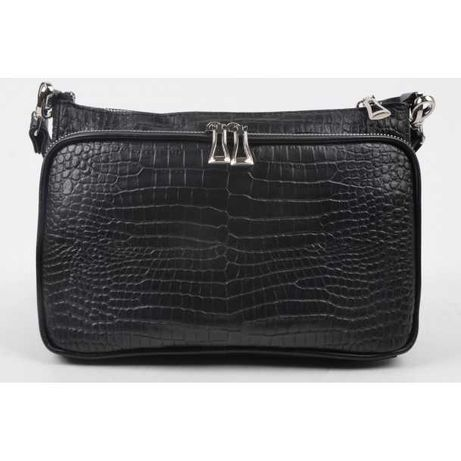 Женская кожаная сумка Giorno черная 2020732-7