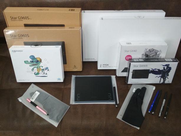 Графические планшеты XP-PEN, HUION, GAOMON, WACOM. В наличии!
