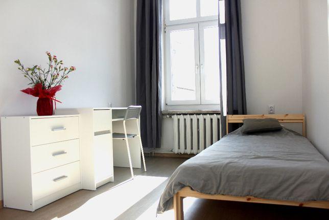 Duży pokój jednoosobowy, samo centrum, przestronne mieszkanie 69m2
