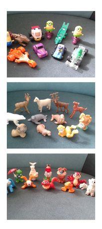 Figurki zwierząt, samochód, zwierzęta, zabawki