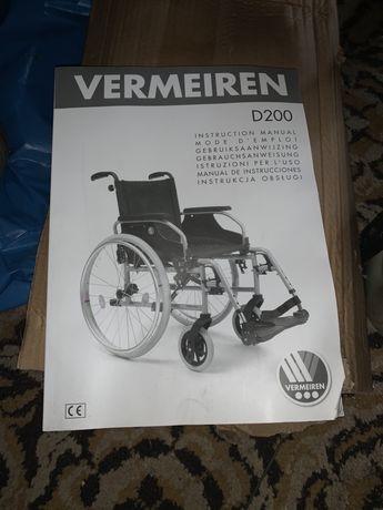 Wozek inwalidzki .