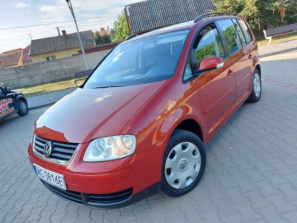 VW TOURAN!2005 R!Benzynka!7 Osobowy!KOSSA! Bez korozji! Zamiana