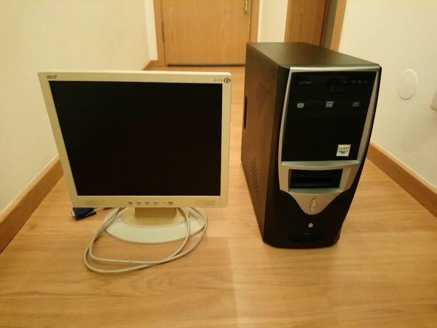 Comutador com monitor venda/troca