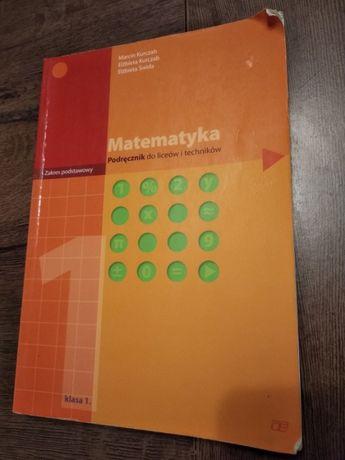 Matematyka 1. Podręcznik do liceów i techników Zakres podstawowy