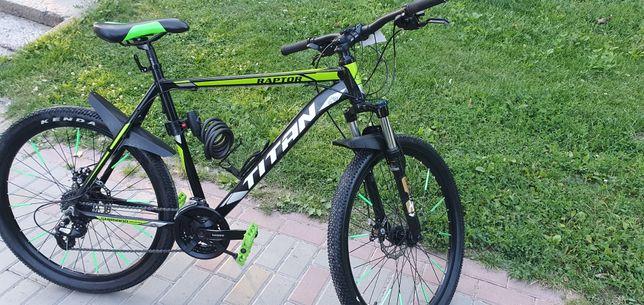 Велосипед Raptor Titan 26 колеса, дискові гальма, алюмінієва рама
