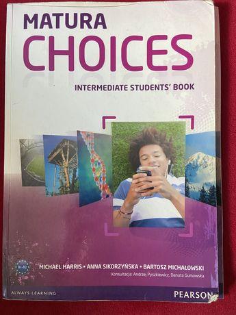 Matura choices, intermediate students' book
