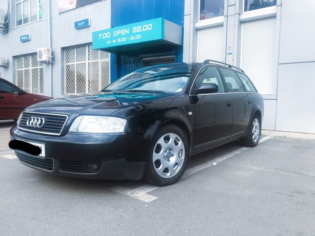 Audi A6 (2 л., газ/бензин)