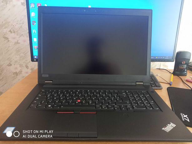 """Ноутбук Lenovo P72 / Intel Core i7 8850H / Nvidia Quadro P2000 17"""""""