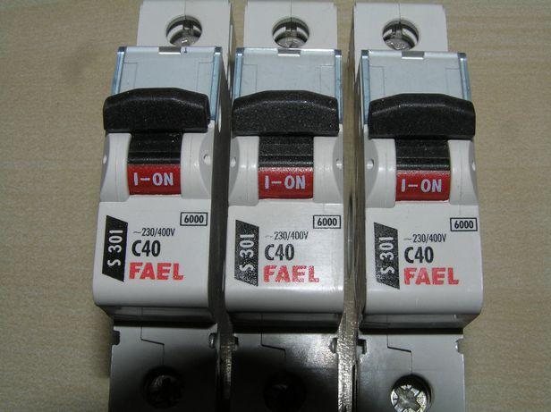 Legrand Fael wyłącznik nadprądowy 1P C40A